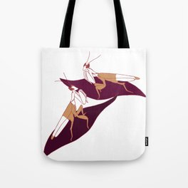 Orchid Mantids Tote Bag