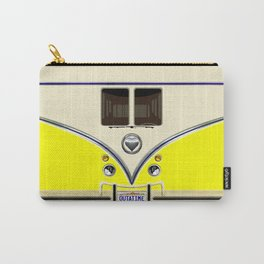 YELLOW minibus lovebug iPhone 4 4s 5 5c 6 7, pillow case, mugs and tshirt Carry-All Pouch