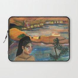 FKA Twigs as Dali's Self Portrait with Neck of Raphael Laptop Sleeve