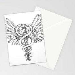 Caduceus Stationery Cards
