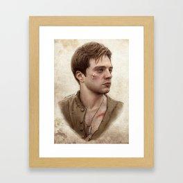 Bucky Barnes Framed Art Print