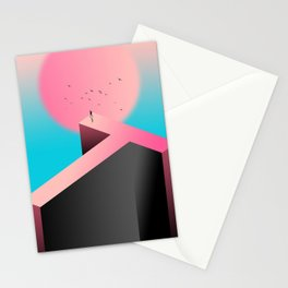 Surreal Dream of lonliness Stationery Cards