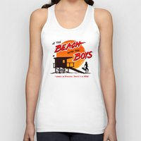 At the Beach with the Boys (90s version) Unisex Tank Top