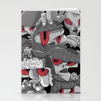 marauders Stationery Cards featuring Midday Marauders by Chent Sanchez