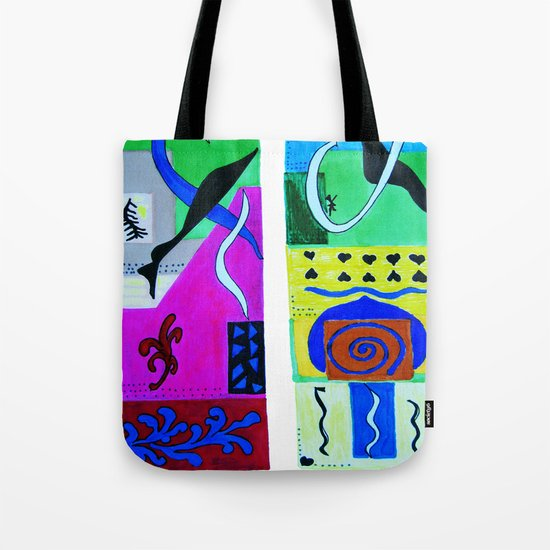 inspiration from Matisse Tote Bag