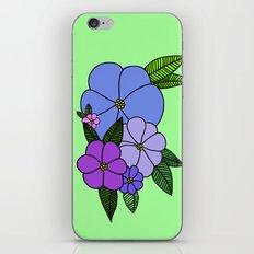 F L O R E S iPhone Skin