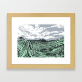 A walk to remember Framed Art Print