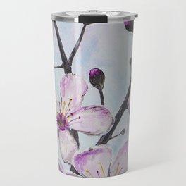 Cherry Blossoms I Travel Mug