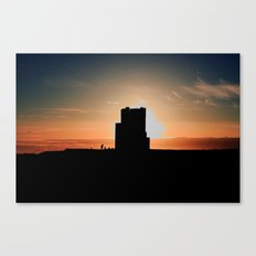 Brien's Tower At Sunset Canvas Print
