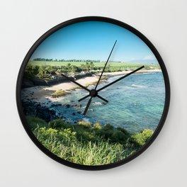 Hookipa Beach Wall Clock