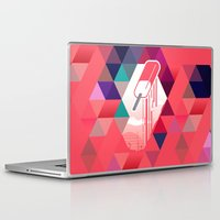 popsicle Laptop & iPad Skins featuring Watermelon Popsicle by Spires