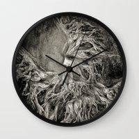greek Wall Clocks featuring Greek goddess Gaia. by Viviana Gonzalez