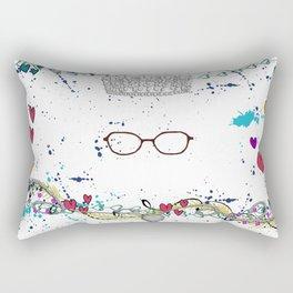 The Princess Diaries - the Princess wears Glasses?! Shut Up! Rectangular Pillow