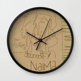 Naima Wall Clock
