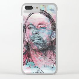 Thom Yorke - Give Up The Ghost Clear iPhone Case