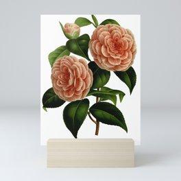 Vintage flower painting Mini Art Print