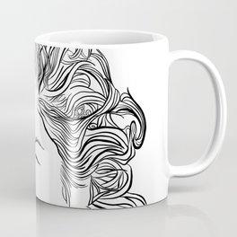 Gwen, in transparent/black Coffee Mug