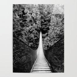 Suspension Bridge Poster
