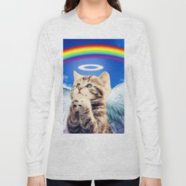 rainbow cat Long Sleeve T-shirt