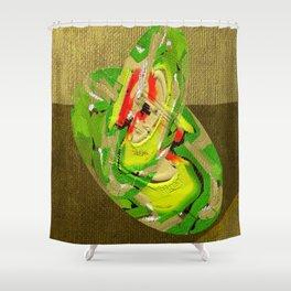 Haiku series number 3 Shower Curtain