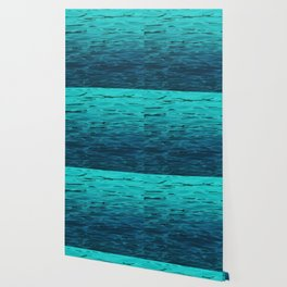 Turquoise Ocean Water, Tropical Water Pattern, Blue Water Surface, Seawater Texture Wallpaper