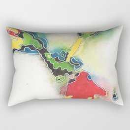 from my garden of the extraordinary (strength) Rectangular Pillow