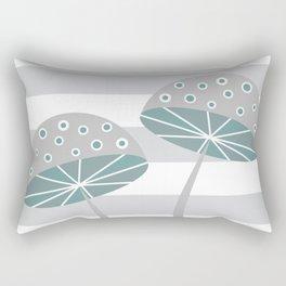 Romantic mushrooms Rectangular Pillow