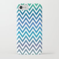 chevron iPhone & iPod Cases featuring Chevron by David Zydd