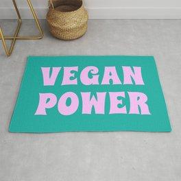 Vegan Power Vegetarian Workout Graphics Rug