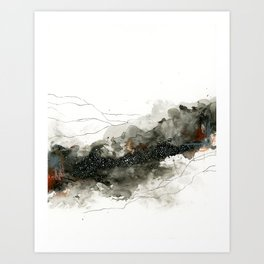 Forest Breather Art Print