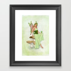 Absinthe the Green Fairy Framed Art Print
