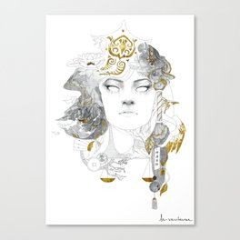 Korra II Canvas Print
