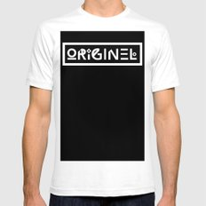 Originel LARGE White Mens Fitted Tee