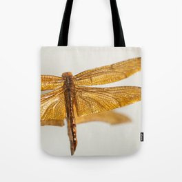 Gilt Dragonfly Tote Bag