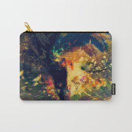 Portrait of a Woman: We Are Flowers Carry-All Pouch