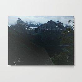 Going to the Sun Landscape, Glacier National Park, Montana Metal Print