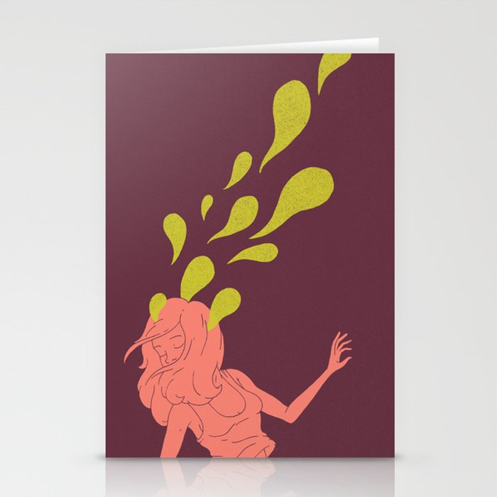 Haunted Hair Stationery Cards