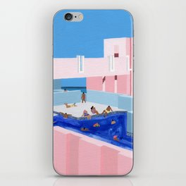 Spain Pool iPhone Skin