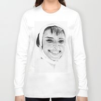 audrey Long Sleeve T-shirts featuring Audrey by Belay