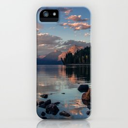 Lake Mcdonald Sunset - Glacier NP iPhone Case