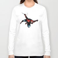 spider man Long Sleeve T-shirts featuring Spider Man by Luis Pinto