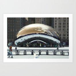 bean to cloud-gate recently? Art Print