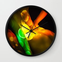 Abstract Projections Wall Clock