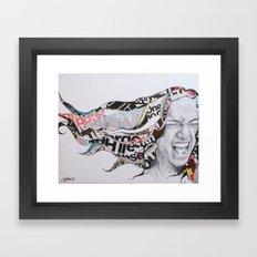 Fill the Void Framed Art Print