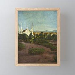 Las Vegas Temple Framed Mini Art Print