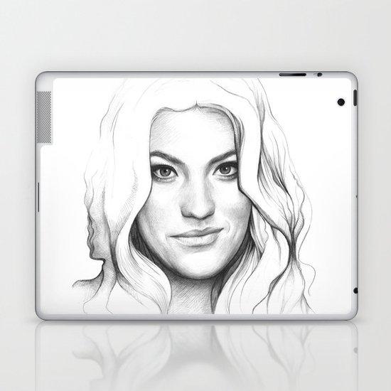 Jennifer Carpenter   Debra Morgan Portrait Laptop & iPad Skin