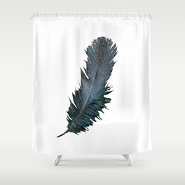 Feather - Enjoy the difference! Shower Curtain