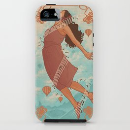 Feel The Music iPhone Case