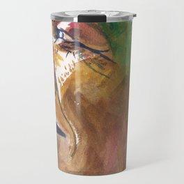 Mandela Abstract Travel Mug