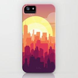 Brooklyn Sunset iPhone Case